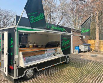 Vanaf zaterdag 6 maart 2021 is er een snackwagen op de zaterdagmarkt