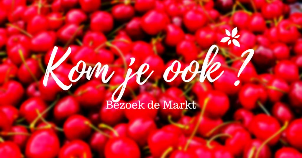 bezoek de markt