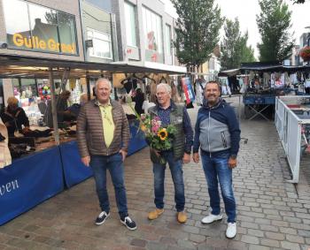 Hans Middelhoven na 50 jaar gestopt als marktkoopman